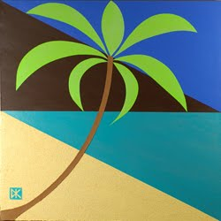 Tropical Abstract Design #5 (Flat)