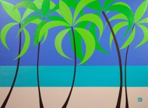Tropical Abstract Design #7 (Flat)