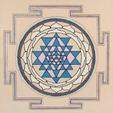 Painted Prayers - Health Yantra.Small J-PEG