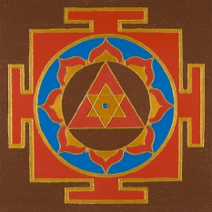 Painted Prayers - Success Yantra.Small J-PEG