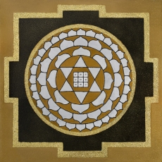 Painted Prayers - Wealth Yantra. Small J-PEG