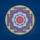 Painted Prayers - Wisdom Yantra.Small J-PEG