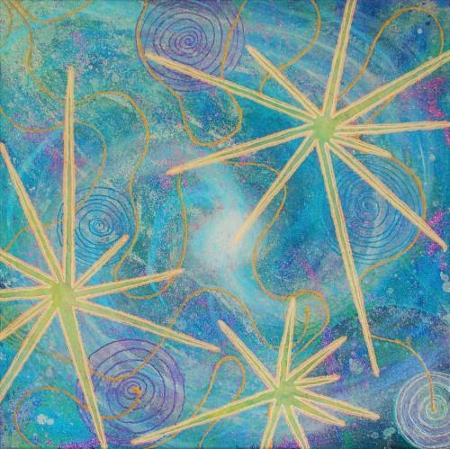 Star Burst Universe (Square) jpeg