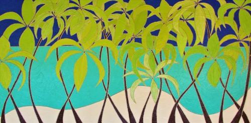 Tropical Palm Trees - jpeg