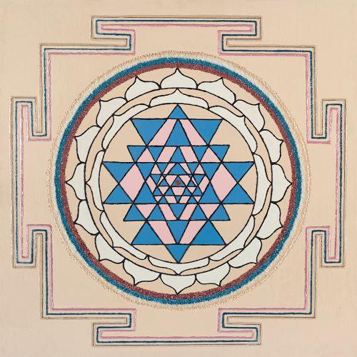 Painted Prayers - Health Yantra.Small J-PEG