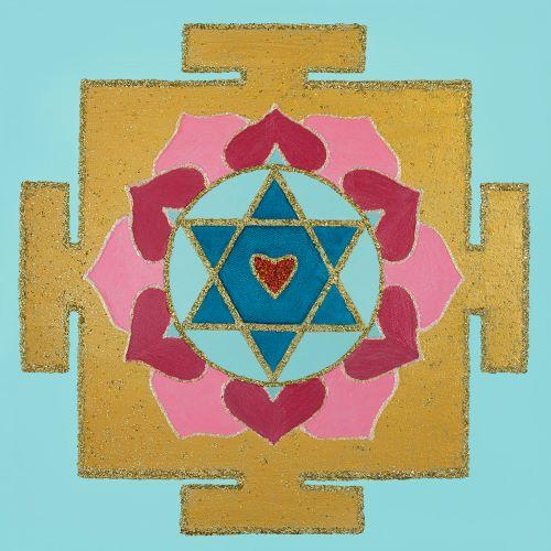 Painted Prayers - Love Yantra.Small J-PEG