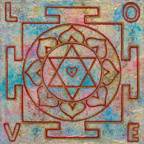 Painted Prayers - Personalized Love Yantra.Small J-PEG