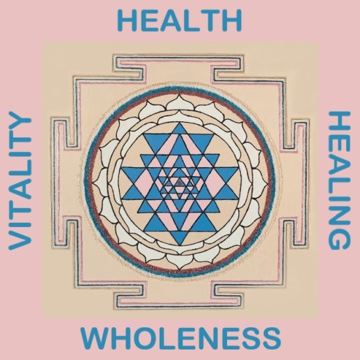 Painted Prayers - Health Yantra.Small with words J-PEG