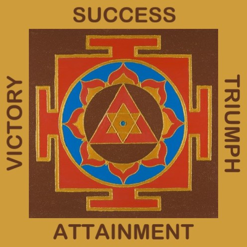 Painted Prayers - Success Yantra.Small with words J-PEG