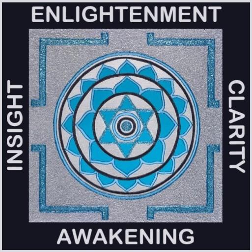 Painted Prayers - Enlightenment Yantra.Small J-PEG