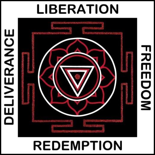 Painted Prayers - Liberation Yantra.Small J-PEG