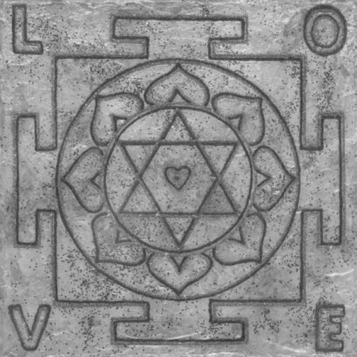 Painted Prayers - Personalized Love Yantra.small (B&W) J-PEG