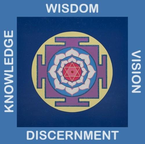 Painted Prayers - Wisdom Yantra.Small J-PEG - Copy